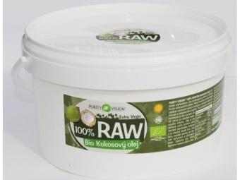 RAW kókuszolaj, 2,5 l