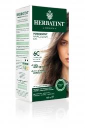 HERBATINT tartós hajfesték - sötét hamvasszőke 6C