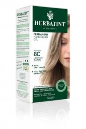 HERBATINT tartós hajfesték - világos hamvasszőke 8C