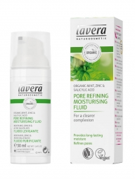 lavera pórustisztító és hidratáló folyadék 50 ml