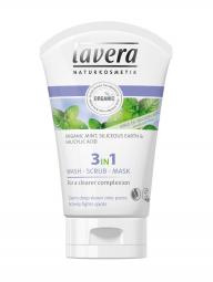 Lavera 3in1 arctisztító, peeling és maszk 125ml
