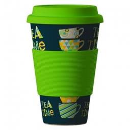Eco Bamboo Cup - Tea Tima Green, zöld