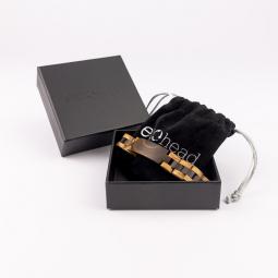 Kézi karkötő - Dark Brown Ebony Line dobozban