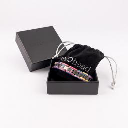 Kézi karkötő - Ebony Rainbow dobozban