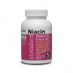 Vitamín B3 Niacin 10 mg