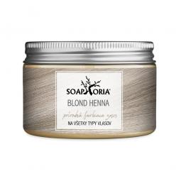 Gyógynövényes hajszínező keverék hennából - szőke