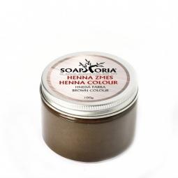 Gyógynövényes hajszínező keverék hennából - barna