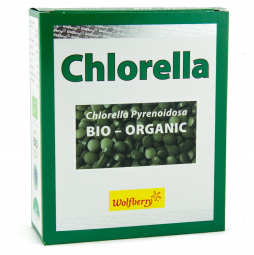 Chlorella BIO 90 g 450 tabletta Wolfberry *