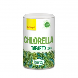 Chlorella BIO 250 g 1200 tabletta Wolfberry PDZ *