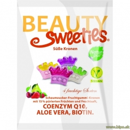 Cukríky Beauty Sweeties - Korunky 125 g vegan