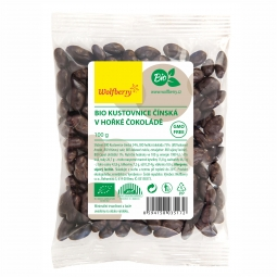 Goji keserű csokoládéban BIO 100 g Wolfberry *