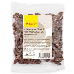 Goji tejcsokoládéban, 100 g, Wolfberry