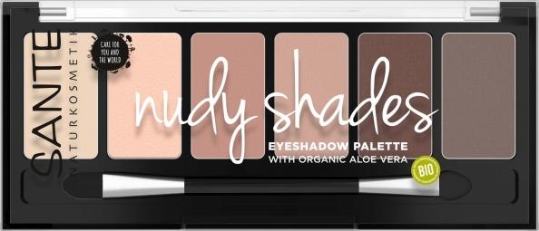 Ásványi szemhéjpúderek, Palette nudy shades, 6 g
