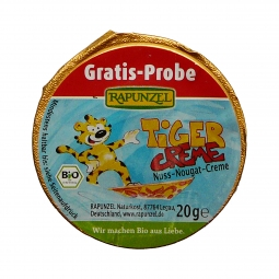 Mini nugátos kenő, Tiger, BIO, 20 g, Rapunzel *