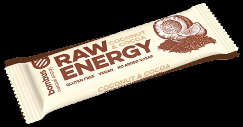 Bombus RAW ENERGY kókusz szelet 50g