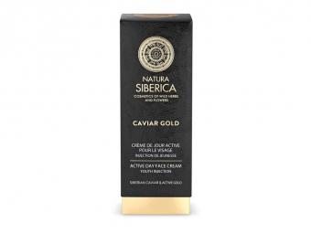 Caviar Gold - Aktív nappali arckrém, A fiatalság injekciója