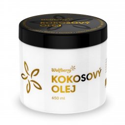Szűz kókuszolaj, BIO, 650 ml, Wolfberry *