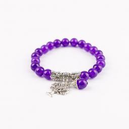 Karkötő - Purple Tree
