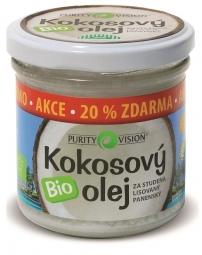 Bio Kókuszolaj, 100 ml + 20% ajándék