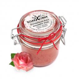 Bőrradír - Romantikus Rózsa