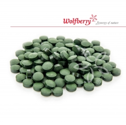 Spirulina BIO 250 g 500 tabletta Wolferry PDZ *