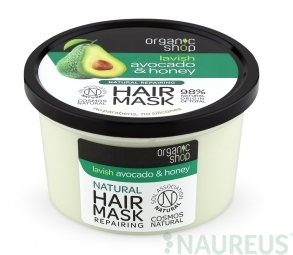 Organic Shop - Avokádó & Méz - Hajpakolás, 250 ml