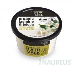 Organic Shop - Indiai jázmin - Hajpakolás, 250 ml