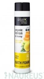 Organic Shop - Citrom és méz - ránctalanító habfürdő