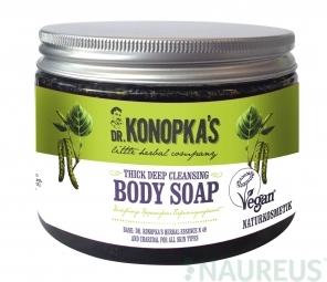 Dr.Konopka´S - Mélytisztító sűrű szappan testre, 500 ml