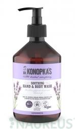 Dr.Konopka´S - Nyugtató szappan kézre és testre, 500 ml