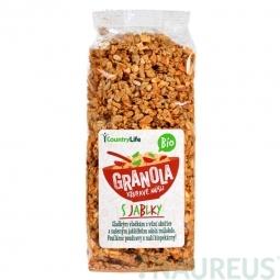 Granola - Ropogós müzli almával, 350 g, BIO