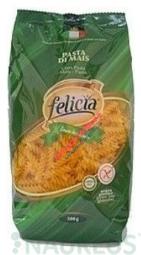 Kukorica száraztészta, FUSILLI, gluténmentes, 500 g