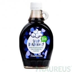Fekete áfonya szirup BIO 250 ml