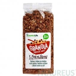 Granola - Ropogós müzli csokoládéval, 350 g, BIO