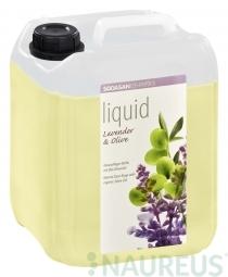 BIO folyékony szappan kézre, Levendula - Olíva, 5L