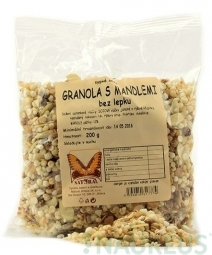 Granola - mandulás, gluténmentes 200g