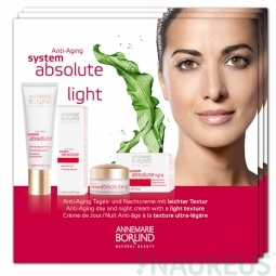 SYSTEM ABSOLUTE sorozat, Anti-aging LIGHT - TERMÉKMINTA