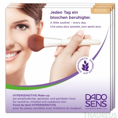 Hyper Sensitive alapozó NATURAL érzékeny bőrre - MINTA