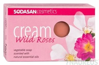 Cream BIO arcszappan - Vadrózsa