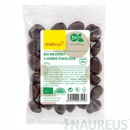 Vörös áfonya keserű csokoládéban BIO 100 g Wolfberry *