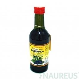 Növényi szirup - Fekete áfonya 250 ml Klášterní officína