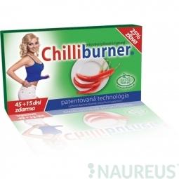 CHILLIBURNER - fogyást segítő tabletta, 60 tabletta - 45+15 nap AJÁNDÉK!