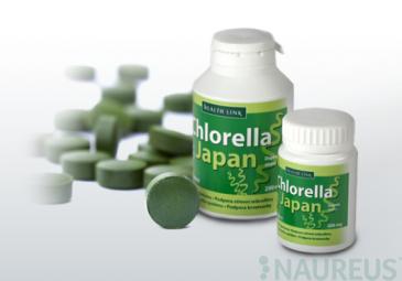 Chlorella Japan 250 tabletta