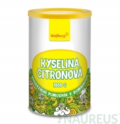 Citromsav 1000 g Wolfberry