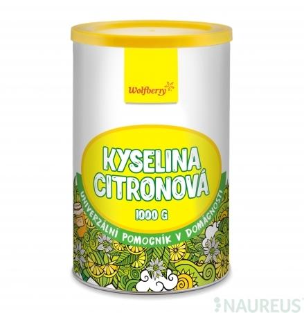 Citromsav 1000 g Wolfberry