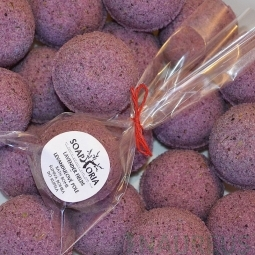 Pezsgő fürdőbomba - Levendula Mező