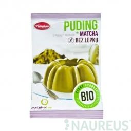 Ananász ízesítésű gluténmentes BIO matcha puding 40 g