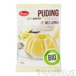 Vaníliás puding, gluténmentes, 40 g, BIO