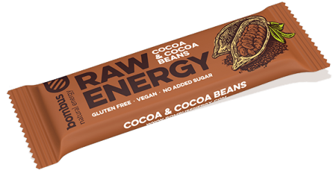Bombus RAW ENERGY kakaóbab szelet 50g