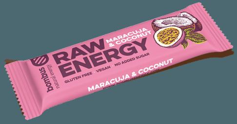 Bombus RAW ENERGY maracuja-kókusz szelet 50g